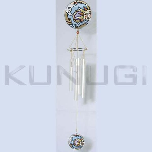 Campana de viento cristal esmaltado - Campana de cristal ikea ...